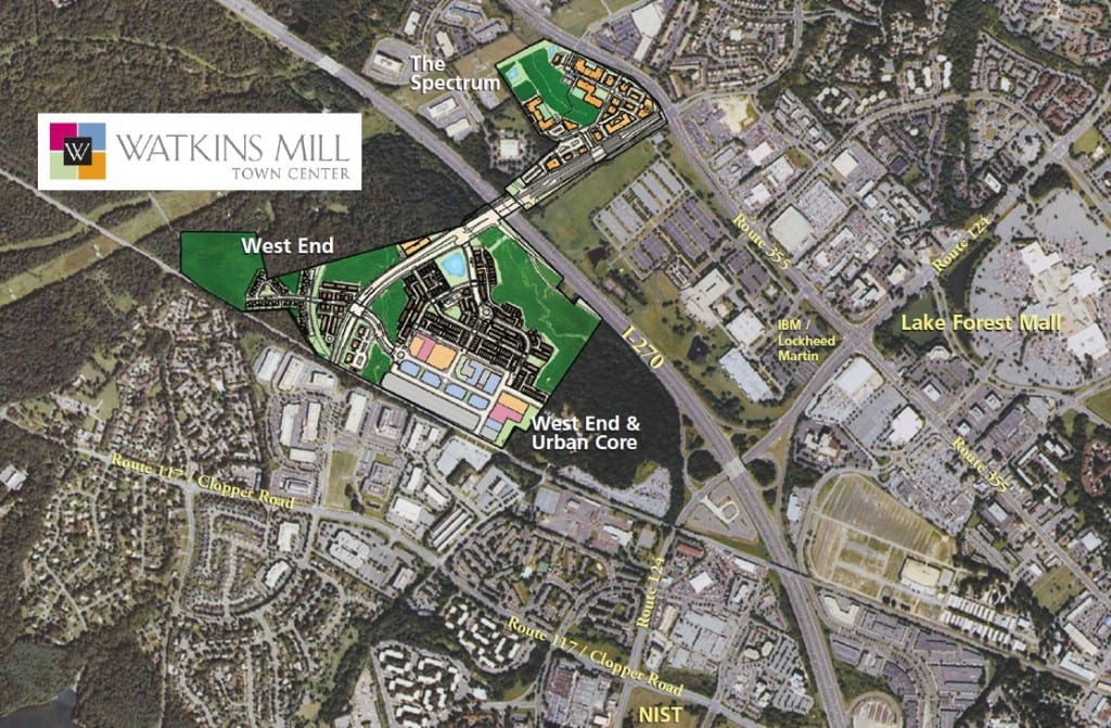 Watkins Mill Town Center – Gaithersburg, MD