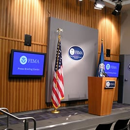 FEMA Offices and Press Conference Room – Washington, DC